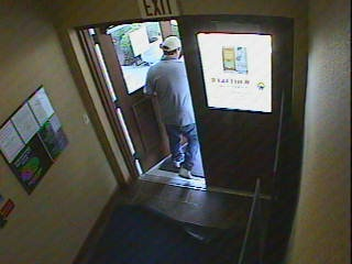 Bank video, door
