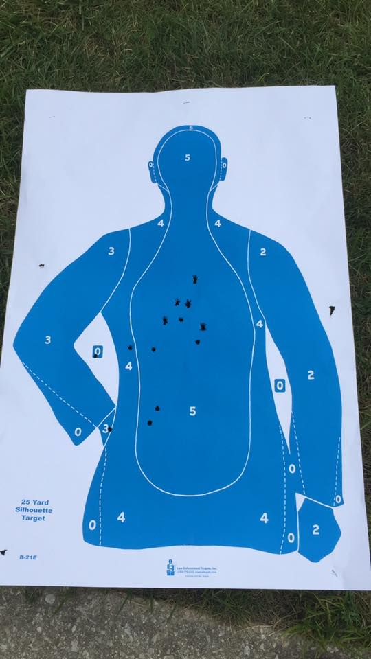 9mm Glock firing range